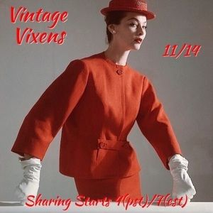 Accessories - SATURDAY 11/14 Vintage Vixens Sign Up Sheet